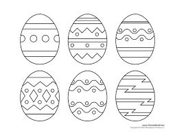 printable easter egg templates