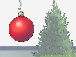 How To Decorate A Christmas Tree With Ribbon Garland How To Decorate A Christmas Tree Elegantly 12 Steps