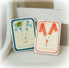 shoregirl u0027s creations washi tape bunny cards