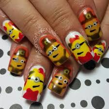 minion thanksgiving nail gallery