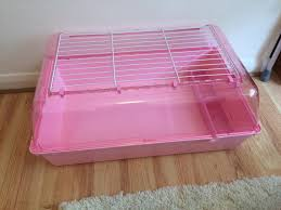 Cages For Guinea Pigs Brand New Pink Zoozone 2 Small Animal Cage For Hamster Guinea