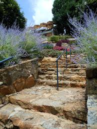 Rock Garden South by Stairs At Frances Beattie Rockgarden Downtown Greenville Sc