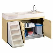 Changing Table With Sink Walk Up Changing Table W Right Sink Left Stairs