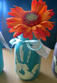 mothers day ideas for kids mason jar vase
