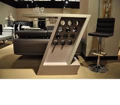 dreamfurniture com zin modern white mini bar unit