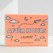 after hours super shock eyeshadow set u2013 colourpop