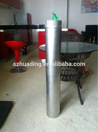 Fireplace Pipe For Wood Burn by Ce And Painting Galvanized Chimney Pipe Single Wall Chimney Pipe