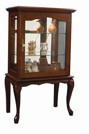 are curio cabinets out of style handcrafted queen anne style curio cabinet