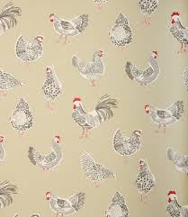 great fabric for a country style kitchen available in a range of