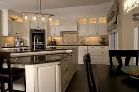 marron cuisine armoires de cuisine design le de rail de la lumière trois