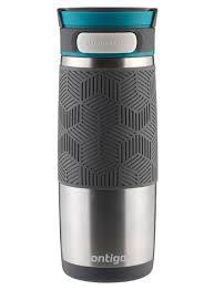 contigo travel mug autoseal transit insulated stainless steel travel mug 16oz