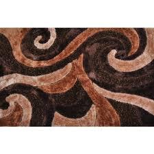 3d poly silk area rug walmart com