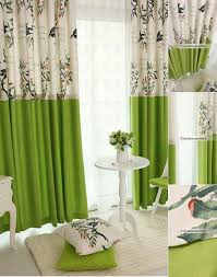 Green And White Curtains Decor Popular Green Living Room Curtains And Drapes Curtains Designs For