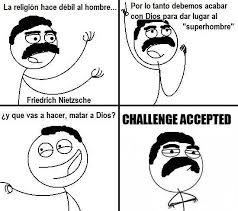 Challenge Que Significa El Origen Famoso Challenge Accepted Animaciones Taringa