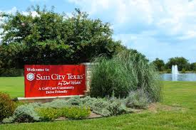 sun city texas del webb retirement community sun city tx community