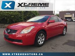nissan altima coupe leather seats used 2009 nissan altima for sale kitchener on