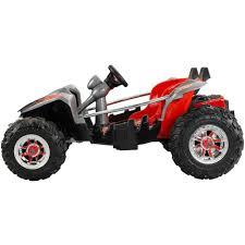 power wheels jeep hurricane green power wheels dune racer 12 volt battery powered ride on walmart com
