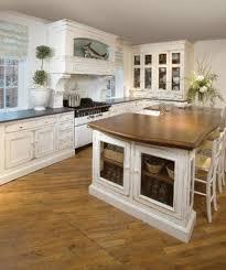 retro kitchen islands vintage kitchen decor idea with wooden floor and small island