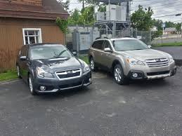subaru outback carbide gray fresh off the truck 2014 legacy 3 6r limited in carbide gray and a