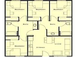 modern 1 story house plans 4 bedroom house plan four bedroom bungalow house plans 4 bedroom