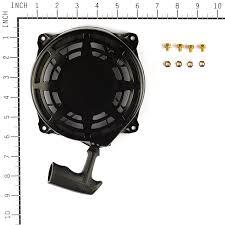 amazon com briggs u0026 stratton 497680 rewind starter lawn and