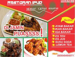 cara membuat brosur makanan 25 contoh brosur flyer produk iklan sekolah dan makanan