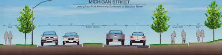 Iupui Map Michigan Street Conversion Project Update News At Iu Indiana