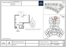 mag 5 boulevard studio apartment 365 sq ft floor plan