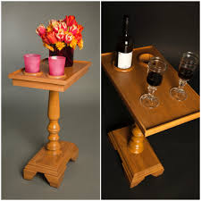chair side end table small side tables cup holders the table