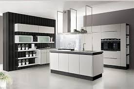 site cuisine italienne cuisine italienne meuble ouverte sur salon de design italien moderne