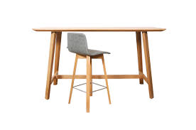 Wooden Bar Table High Bar Table Contemporary Maverick By Brigit Hoffmann Kff