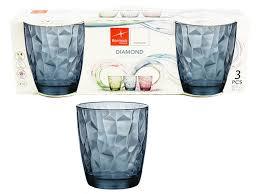 bicchieri colorati bormioli bormioli acqua 30 5 cl x 3
