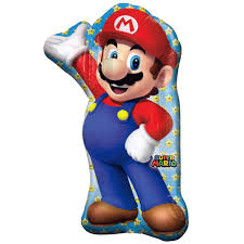 super mario brothers foil balloon
