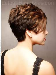 short hair cuts seen from the back short haircuts front and back view elegant short hairstyles for