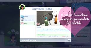 Home Design Career Sims 3 My Sims 4 Blog Updated The Sims 4 Fashion Career Mod By