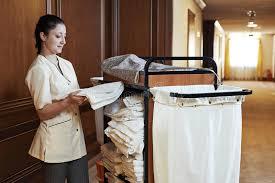 femme de chambre femme de chambre à l hôtel image stock image du chambermaid 41006717