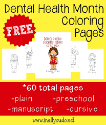 free dental health coloring pages jpg