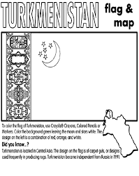 asia map coloring page turkmenistan coloring page crayola com
