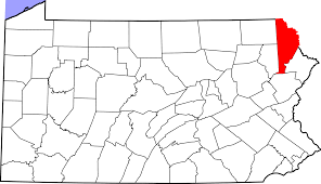 Wayne National Forest Map File Map Of Pennsylvania Highlighting Wayne County Svg Wikipedia