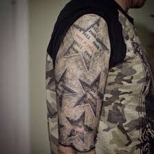 unique star tattoos and designs 2017 star tattoos pinterest