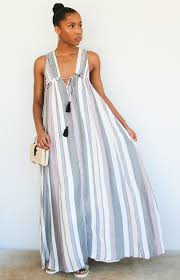 cue dress stripe on cue maxi herringstone s boutique
