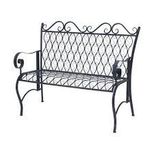White Metal Outdoor Bench Best 25 Metal Outdoor Bench Ideas On Pinterest White Outdoor