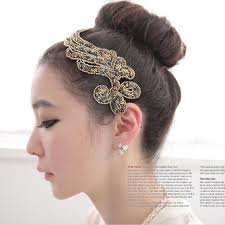hair decoration 10pcs lot fashion forehead bow silk fabrics hair decoration