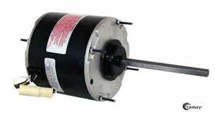48y frame fan motor century fse1016sv1 condenser fan motor 1 6hp 1075rpm 208 230v 1ph 48y