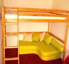 lit mezzanine avec canapé convertible lit mezzanine avec canape convertible studio coquet chambre