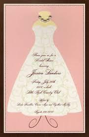 Invitation Paper Bridal Shower Invitation