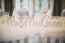 mr and mrs wedding signs classic wedding invitations personalised wedding signs for the