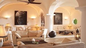 italian style home comfortable italian home decor with white sofa and ceiling fan