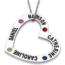grandkids necklace 118 best mothers necklace with kids names images on