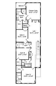 11 best narrow homes images on pinterest floor plans home plans